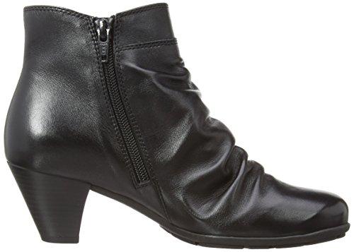 Gabor Shoes 95.641.27 Damen Kurzschaft Stiefel Schwarz (Schwarz)