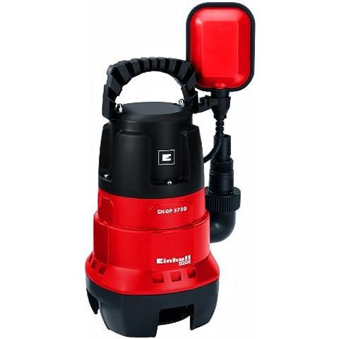 Einhell GH-DP 3730 - Bomba sumergible aguas sucias (370 W, Conexión universal para mangueras de 25 mm y 32 mm)