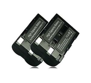 2x Batteria NP-400 NP400 per Konica-Minolta Dimage A1, A2, Dynax 5D, Dynax 7D | D-Li50 DLi50 per Pentax K10D, K20D