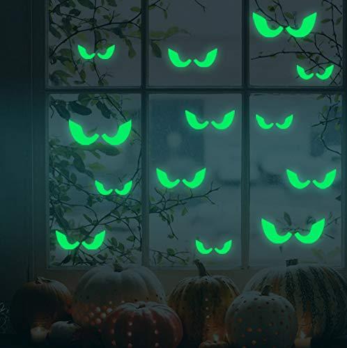Finloveg Voyeur Augen Abnehmbare Leuchtende Wandaufkleber Home Halloween Dekoration Heißer Verkauf Hohe QualitätNeue Muster Moderne Einfache21X29 Cm