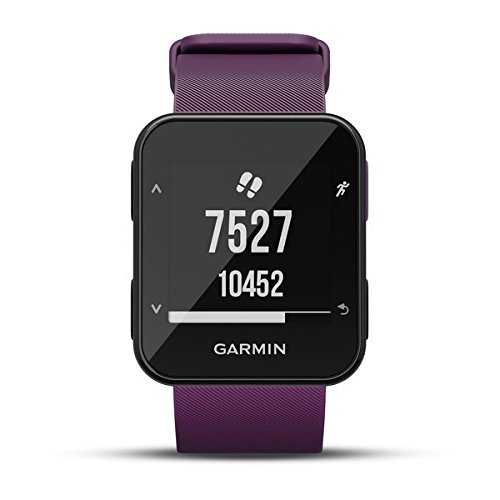 411oAU68vQL. SS500  - Garmin Forerunner 30 GPS Running Watch with Wrist Heart Rate, Amethyst