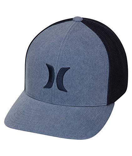 Hurley M Icon Textures Hat Gorras, Hombre, Armory Navy, L/XL
