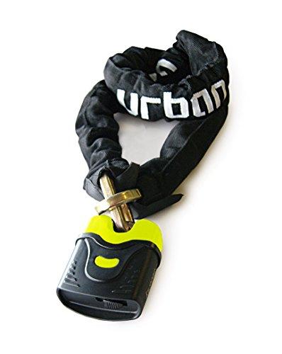 Urban Security U4K170 Cadena Antirrobo Moto candado Nivel 11, ø10, 170cm, 170 cm