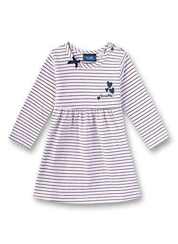 Sanetta Baby-Mädchen Dress Knitted Kleid, Rosa (Cherry Blossom 3971), 62 (Herstellergröße: 062)