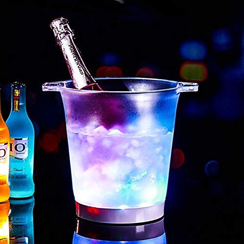 WMM-Ice bucket LED-Farbwechsel-Eimer - Änderungen 7 Farben - Batteriebetrieb - Bar, Nachtclub, Party