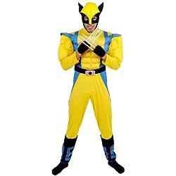 Cesar - Disfraz para hombre Lobezno X-Men (Marvel B463-001)