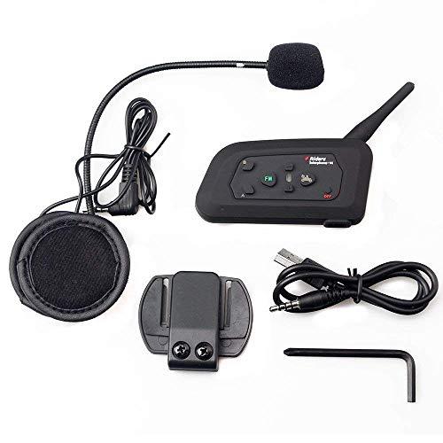 Acai Motorradhelm Bluetooth Walkie-Talkie Headset-4 Fahrer Full-Duplex Bluetooth Freisprechanlage 1200 Meter Ist Ideal Für Reiten Und Skifahren