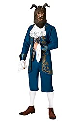Rubie´s Men's Beast Fancy Dress Beauty & The Beast Disney Movie Book Adults Costume Standard