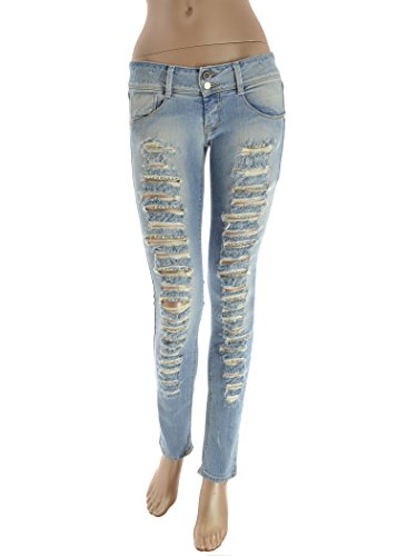 MET Jeans donna strappi e strass (28)