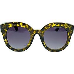 Bold Style Sonnenbrille für Damen im Retro Designer Look extra dicker Rahmen BR22 (Tortoise / Smoke)