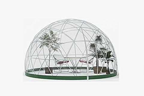 GARDEN IGLOO Jardin d'hiver Translucide 360 x 360 x 220 cm 33244