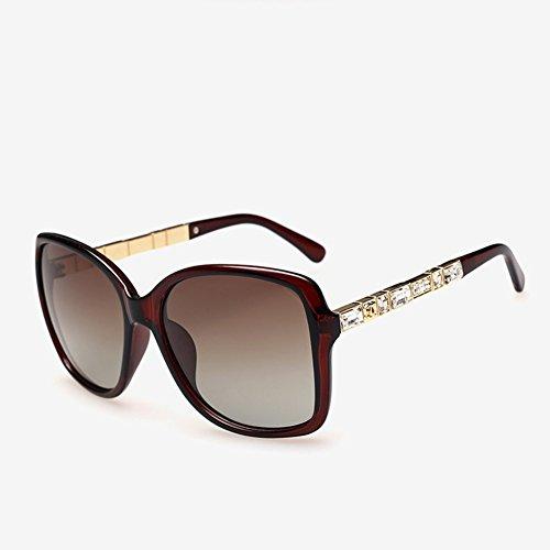 Cj occhiali da sole polarizzati da donna nuovi classici occhiali da sole con montatura grande che guidano lo specchio, 03