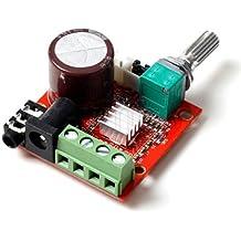 Mini Hi-Fi Audio PAM8610 Módulo Clase D 2X10W Doble Canal Amplificador Estéreo