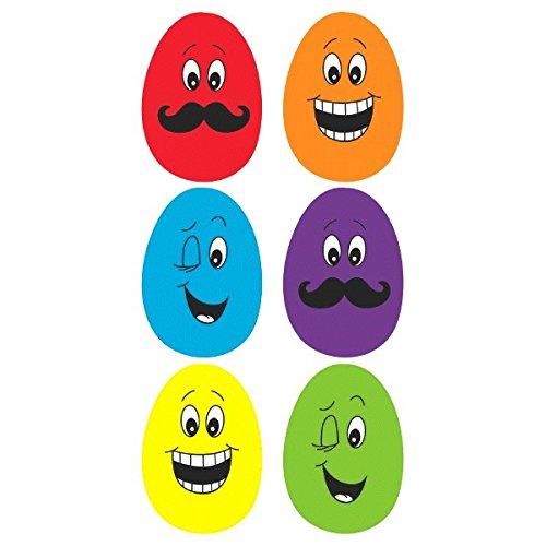 Funny Face Plastik-Eier ()
