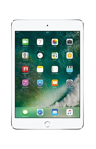 "Apple iPad mini 4, 7,9"" Display, Wi-Fi, 128 GB, 2015, Silber"