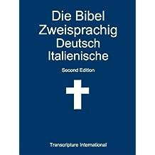 Die Bibel Zweisprachig Deutsch Italienische