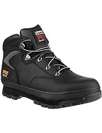 Timberland Timberland Black Euro Hiker 2G Safety Boot - Calzado de protección de cuero para hombre