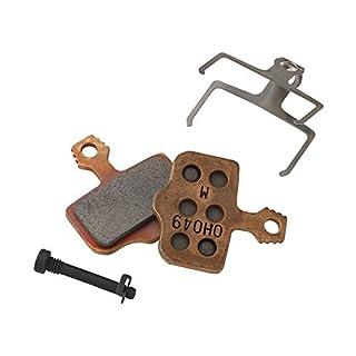 Avid 142827 Elixir Disc Brake Pads Sintered Compound Steel Backplate, Bronze, Set of 1