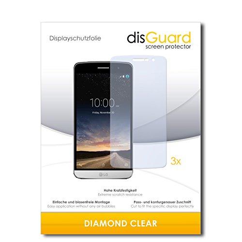 3 x disGuard® Schutzfolie LG Ray X190 Bildschirmschutz Folie