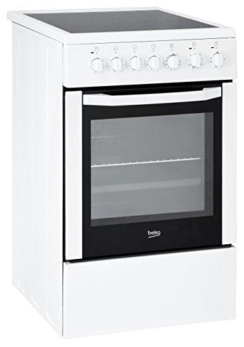 Preisvergleich Produktbild Beko CSM 57100 GW Standbackofen / A / Zeitschaltuhr / 7 Heizarten / Vollglasinnentür / weiß