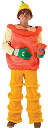 Imagen de erdbeerloft–hombre disfraz bill o ben con top, sombrero con pelo, mosca, guantes y macetas tipos de soporte, m de l , color naranja naranja 26 w/32 l