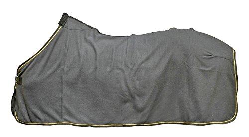 HKM Abschwitzdecke, schwarz/Gold, 165