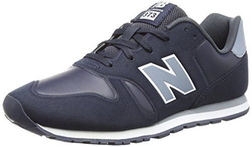 New Balance Re-Engineered 373, Sneaker Unisex-Bambini, Blu (Navy/Grey S1), 36 EU
