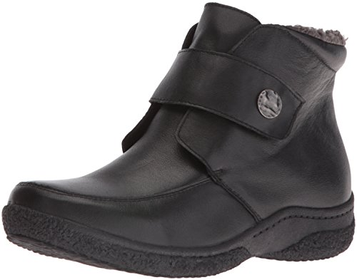 Propet Women's Holly Winter Boot, Black, 7.5 2E US