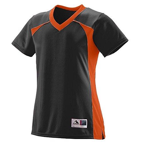 Augusta - T-shirt de sport - Femme Multicolore - Noir/orange