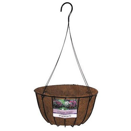 BORDER CONCEPTS - Wrought Iron Grower Basket, 14-In.