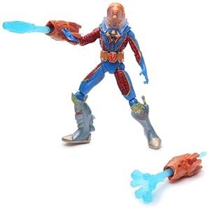 Hasbro Spiderman Figuras acción 9 cm Deep Sea Spiderman con Lanzador de Red acuático - Figura articulada con Accesorios y 3 Cartas coleccionables