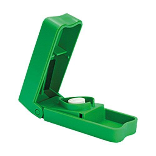 Tablettenteiler COLOR, grün   Sundo Homecare Tabletten & Pillen-Teiler für kleine & große Medikamente   Der farbige (colour) Standard-Tablettenschneider