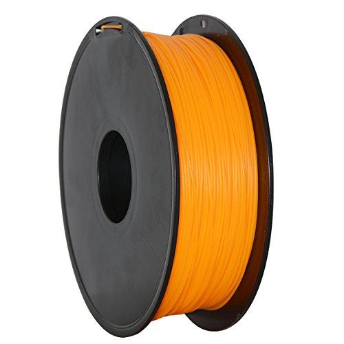 GEEETECH Filament PLA 1.75mm for 3D Drucker 1kg Spool, Orange