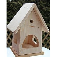 Dekorativer Nistkasten(NB2) Mit Vogelfutterhaus Zum Selbst Bauen  Bausatz Vogelhaus