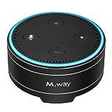 m. way speaker stand per Amazon Echo ALEXA DOT aluminum speaker Holder case per Amazon Echo DOT 2° e ° generazione, protezione e durevole Echo DOT supporto stazione di base per ALEXA