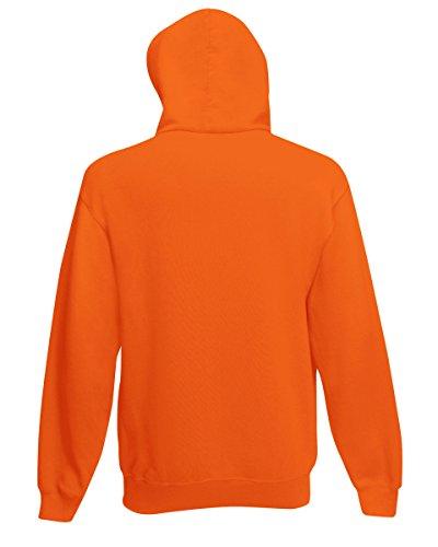 Fruit of the Loom SS068M, Sweat-Shirt àCapuche Femme Orange - Orange