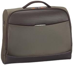 Samsonite Sac bandoulière Litesphere Laptop Shoulder Bag 22.5 Liters Marron (Earth Brown/Comet Maroon) 48279
