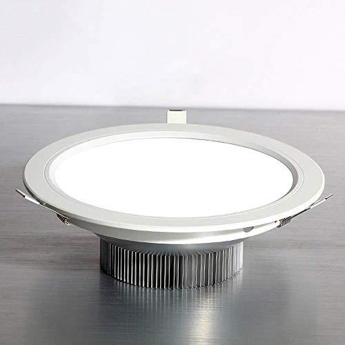 Tritow Aluminium Hohe Lichtdurchlässigkeit 21W Eingebettete Beleuchtung Downlight Haushalt Innendekoration Zeigen Energiesparende Deckenplatte Licht Runde Einbau Schlafzimmer Panel Licht -