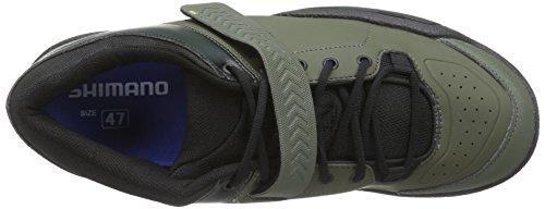 Shimano Am 5, Chaussures de VTT homme Vert - Grün (Army Green)