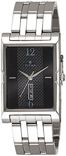 Titan Karishma Analog Black Dial Men's Watch -1641SM02 image