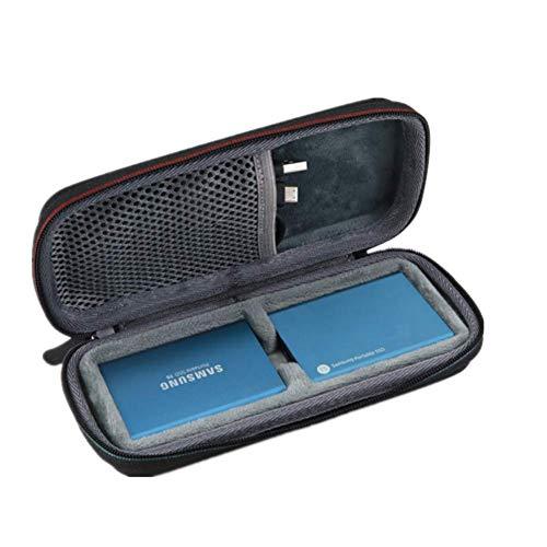 Yuhtech Schutzhülle Tasche für Samsung T3 / Samsung T5 Portable SSD 250GB 500GB 1TB 2TB T3 T5 Reisetasche - Samsung Tasche