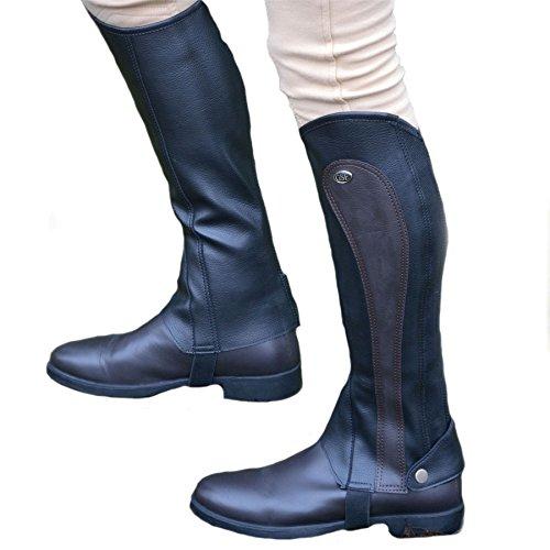 35c2542b617ff GS Equestrian SG Botas de la Mujer sintético Barton impresión  Chaps/Polainas, Mujer, Color marrón, tamaño Medium
