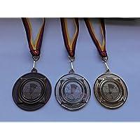 e277 Medaillen Leichtathletik Pokal Kids 10 x Medaillen mit Band&Emblem Turnier Pokale