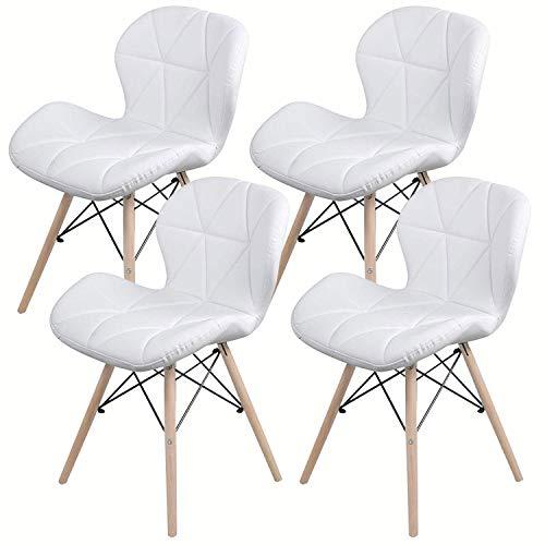 LOVEMYHOUSE Set de 4 sillas de Comedor,Sillas Comedor de PU