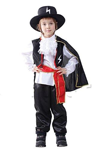 Inception pro infinite costume - carnevale - bambino - bandito - cavaliere - zorro - halloween - cosplay ( taglia m - 4/6 anni )