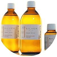 Preisvergleich für PureSilverH2O 1100ml Kolloidales Silber (2X 500ml/10ppm) + Flasche (100ml/50ppm) Reinheit & Qualität seit 2012