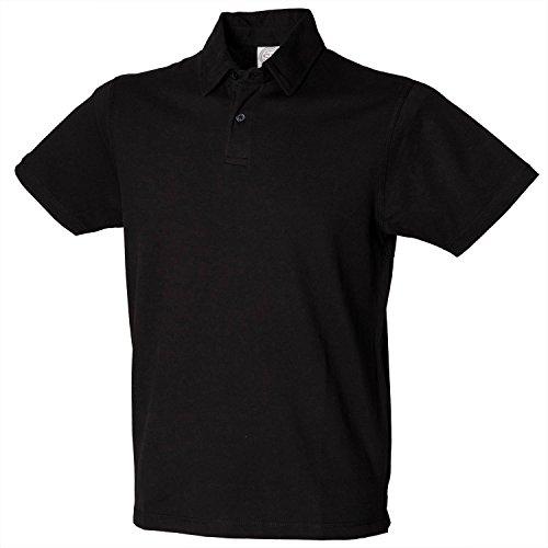 SF Men Short sleeve stretch polo Navy