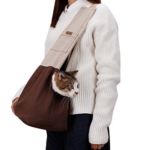 reversible-pet-sling-carrierakemiao-cat-dog-carry-bag-with-breathable-air-mesh-durable-canvasconveni