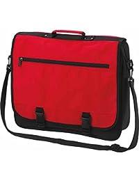 HALFAR - sac sacoche bandoulière étudiant BUSINESS 1800775 - rouge - mixte homme / femme -