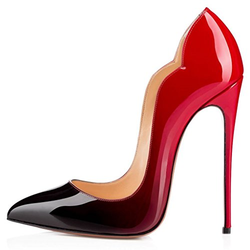 jushee-womens-cyjhk-stiletto-high-heels-closed-pointed-toe-patent-multicoloured-party-pumps-8-uk